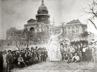 texas state capital statue