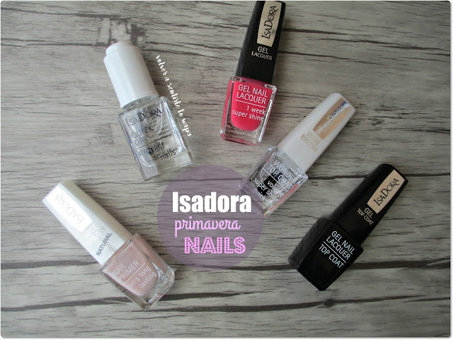 Nails de Primavera: paso a paso con Isadora