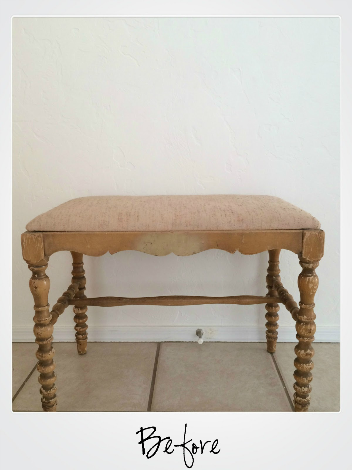 refinished furniture, country chic paint, reupholstered chair, before and after, diy