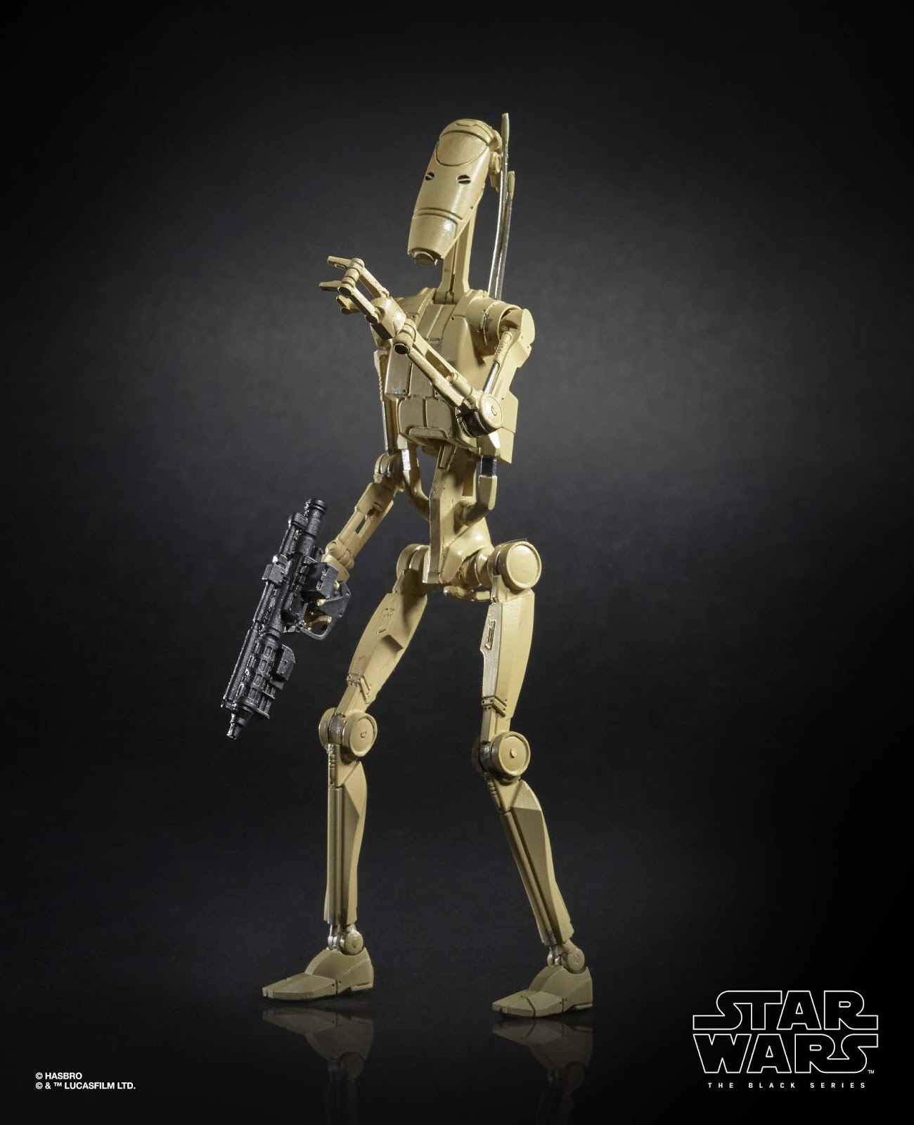 Star Wars: The Black Series 6-inch Battle Droid Figure   (HASBRO/Available: Spring 2019)