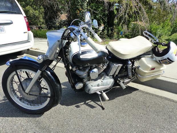 1967 Harley Davidson Sportster - Exploring Mars