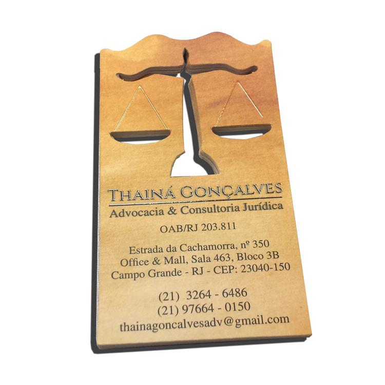 Cartão de Visita do advogado RJ