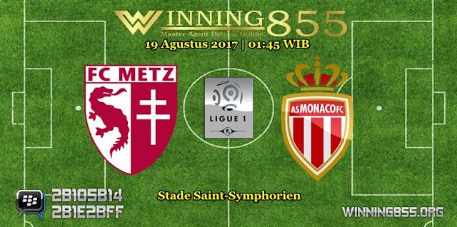 Prediksi Skor Metz vs Monaco