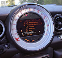 MINI Roadster speedometer