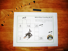 Witch Skip Counting by 2s