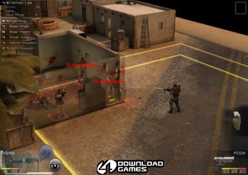 لعبة التكتيكات الحربية Frontline Tactics