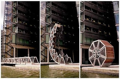 Rolling Bridge, Britinia Raya, London