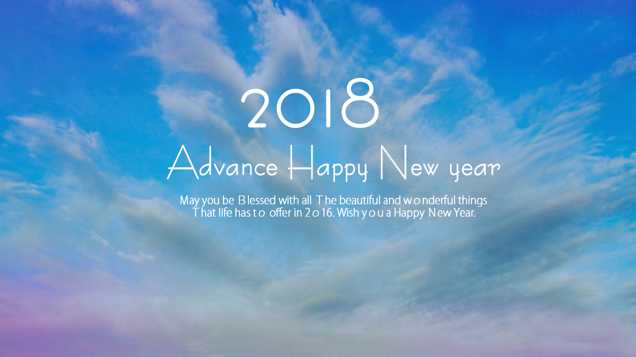 HD Wallpapers and HD Images for Happy New Year 2018