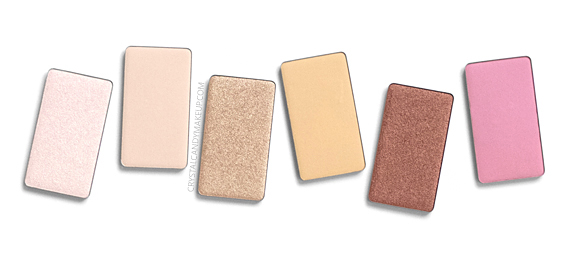 Make Up For Ever Artist Face Color Powder Highlighter Review H102 H104 H106 H108 H312 B204