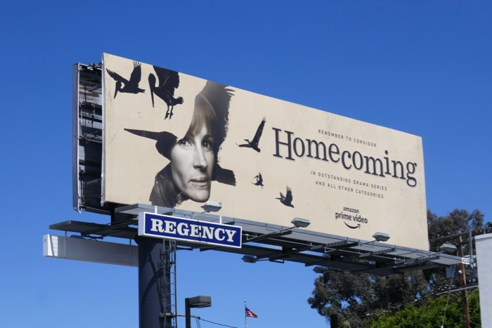 Julia Roberts Homecoming 2019 Emmy FYC billboard