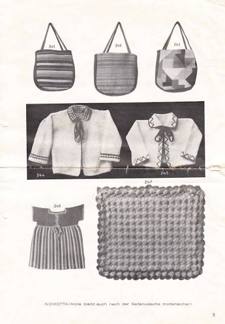 The Vintage Pattern Files: Free German 1930's Knitting Pattern Booklet - Die Schachenmayrin 8/30