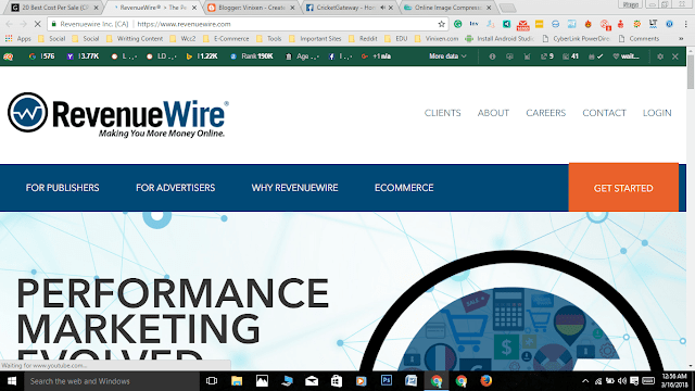 revenue wire, how to earn from revenue wire, screenshot