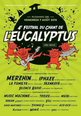 Festival le chant de l'eucalyptus 2015, Plouhinec (56) - Merzhin
