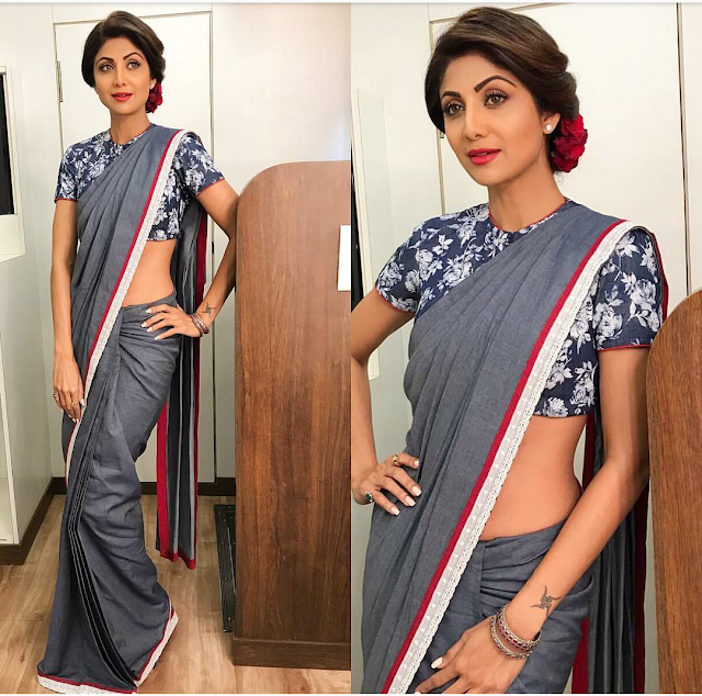Shilpa Shetty In White Elephant by Mayyur Girotra