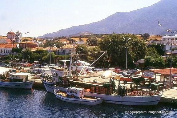 Samotracia, porto di Kamariotissa
