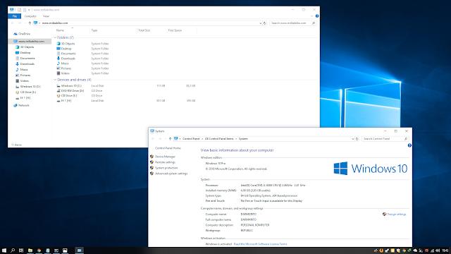 Cara melihat jenis lisensi Windows 10
