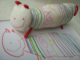 Interesantes peluches inspirados por niños