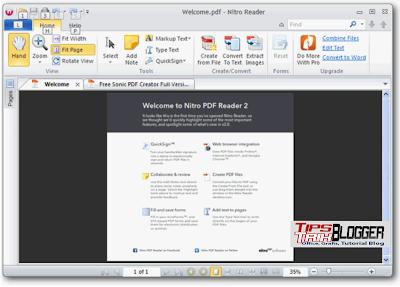 Reader blogspot pdf nitro
