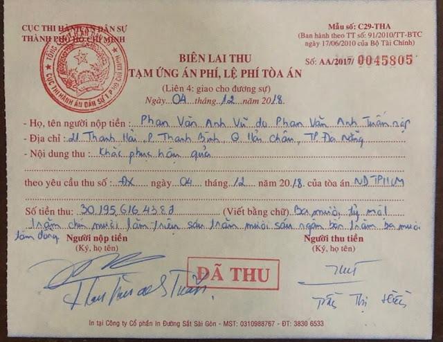 Thật lòng, anh nể mày, Phan Văn Anh Vũ! ảnh 2