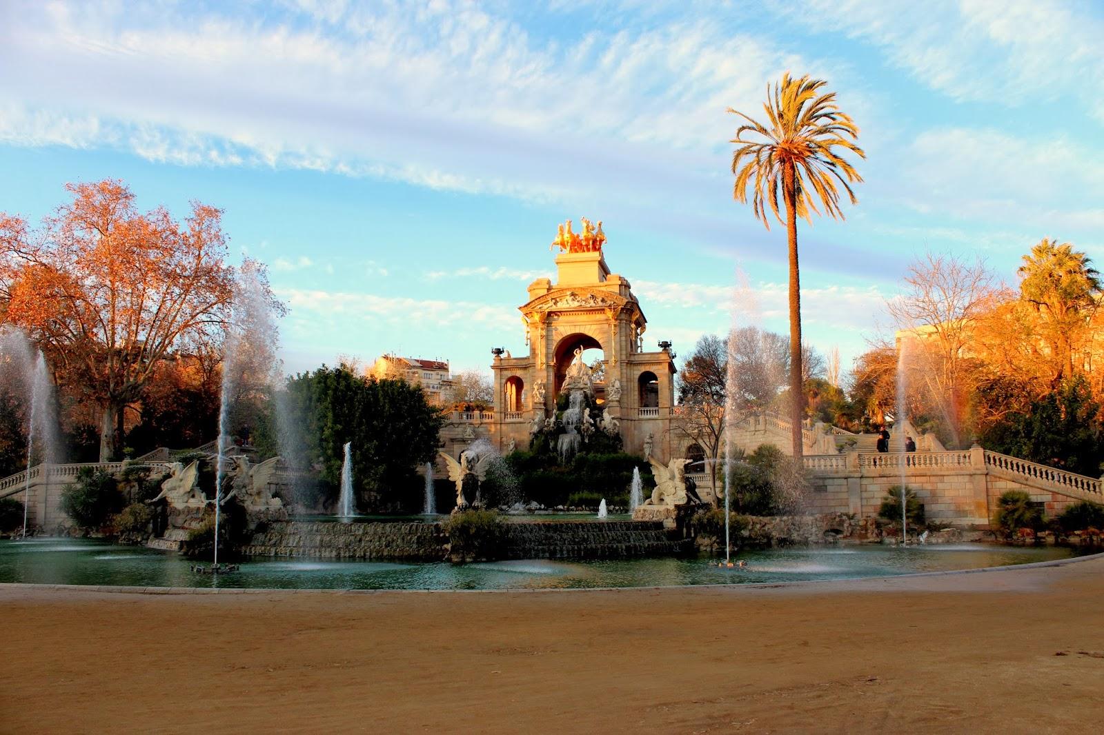 Parque de la Ciudadella en Barcelona