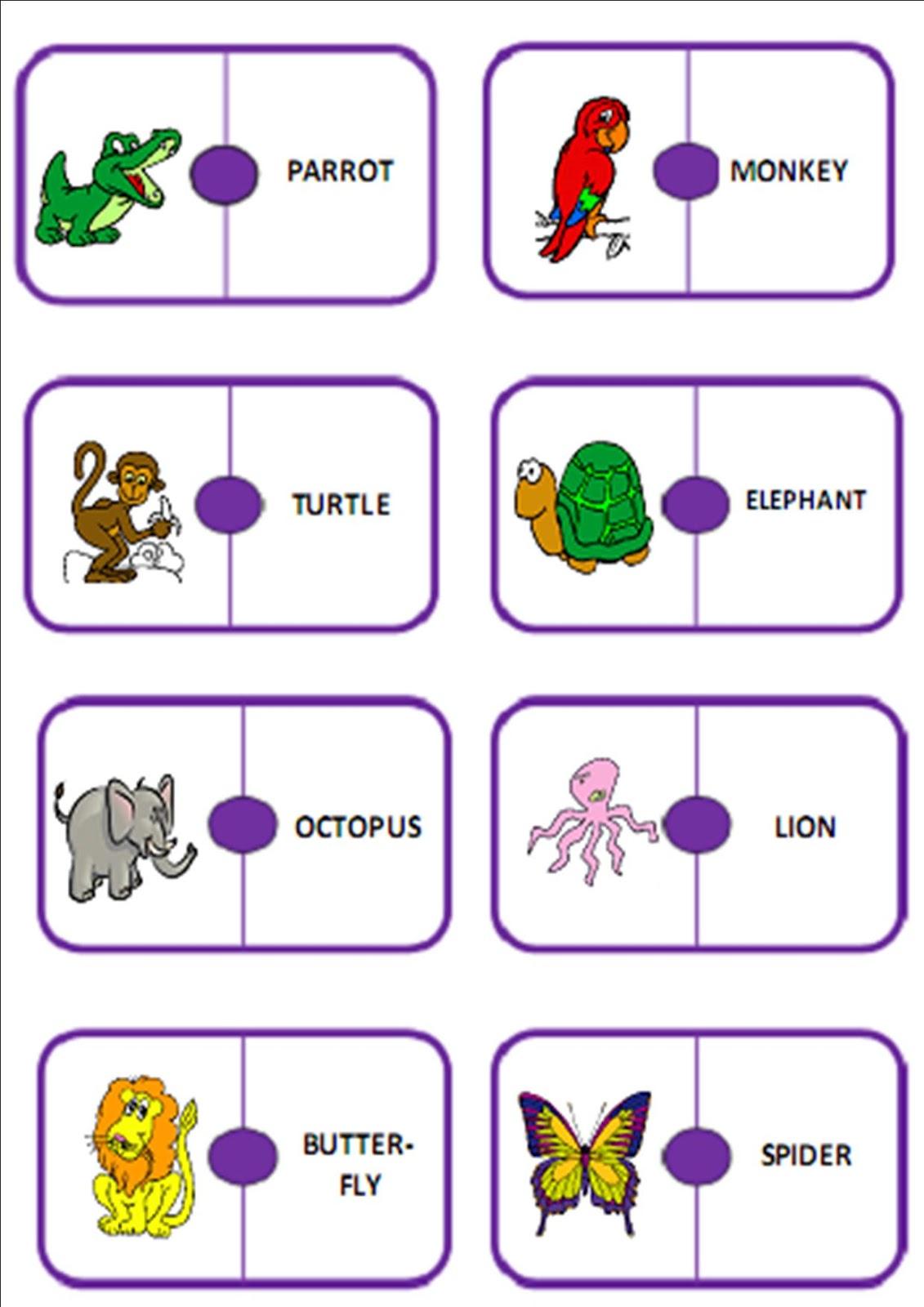 ALGOPEKES Animals domino