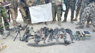 Troops kill Boko Haram members, rescue hostages and recover arms (See Photos)