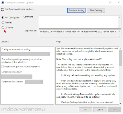 Cara Mematikan Auto Update Windows 10 3