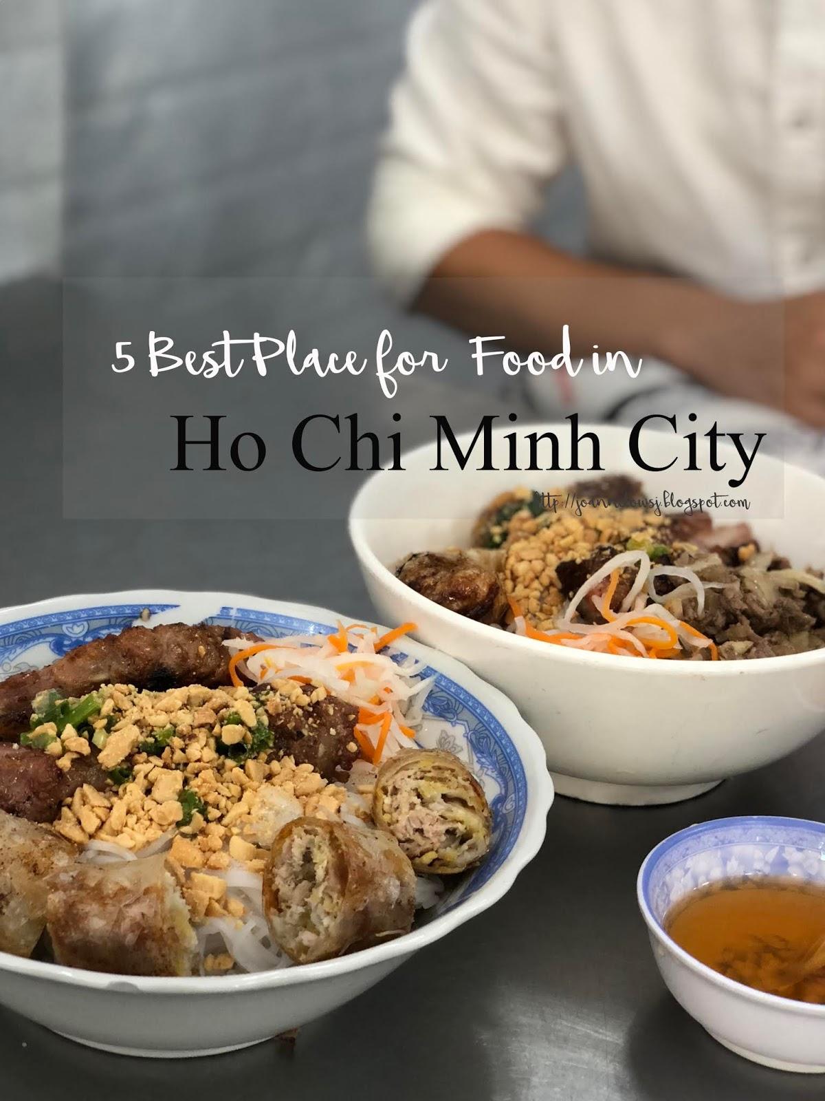 Ho Chi Minh Street Food