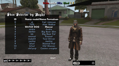 Link Download Game GTA San Andreas Mod Watch Dog High Compress Apk+Data For Android by Fahmi Alfandi