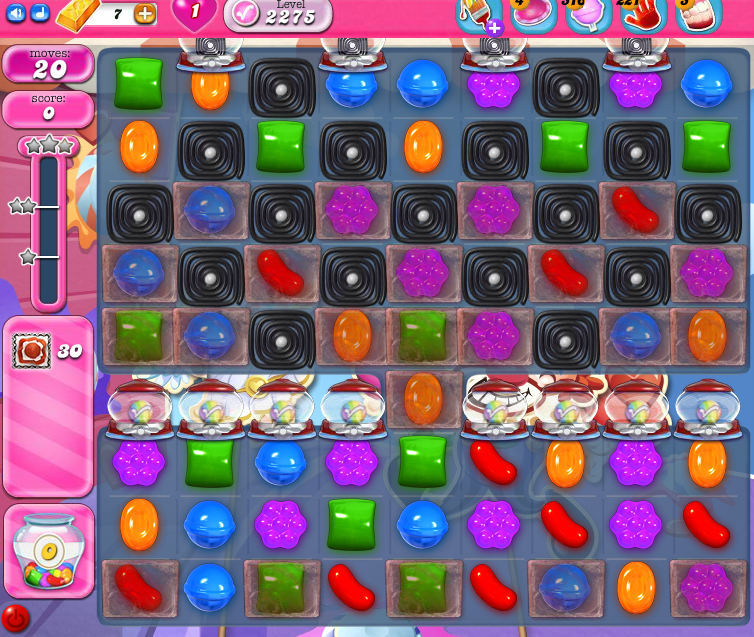 Candy Crush Saga level 2275