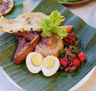 Nasi Blawong, Kuliner andalan Gadri Resto Jogya