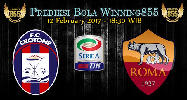 Prediksi Bola Crotone vs AS Roma