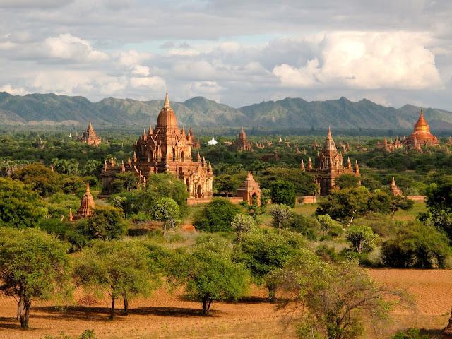 Batan templos Myanmar