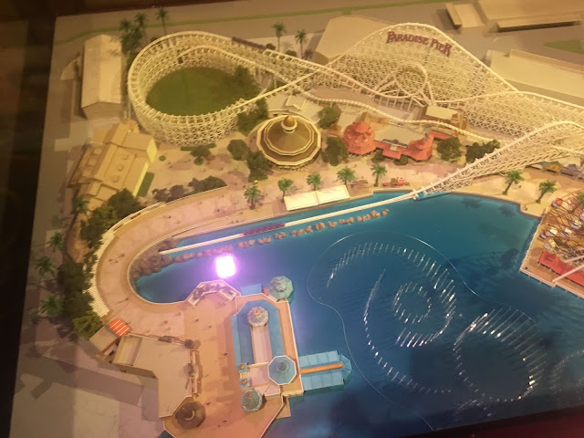 Paradise Pier Model Walt Disney Presents Disney's Hollywood Studios