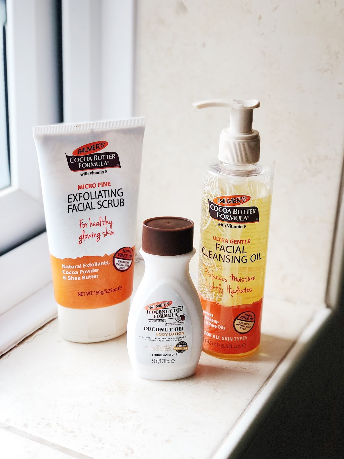 TESTING OUT PALMERS SKIN CARE!