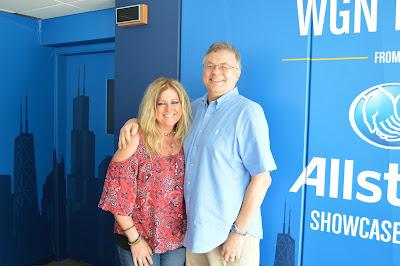 Bobby Skafish at WGN Radio (Photos, audio & commentary