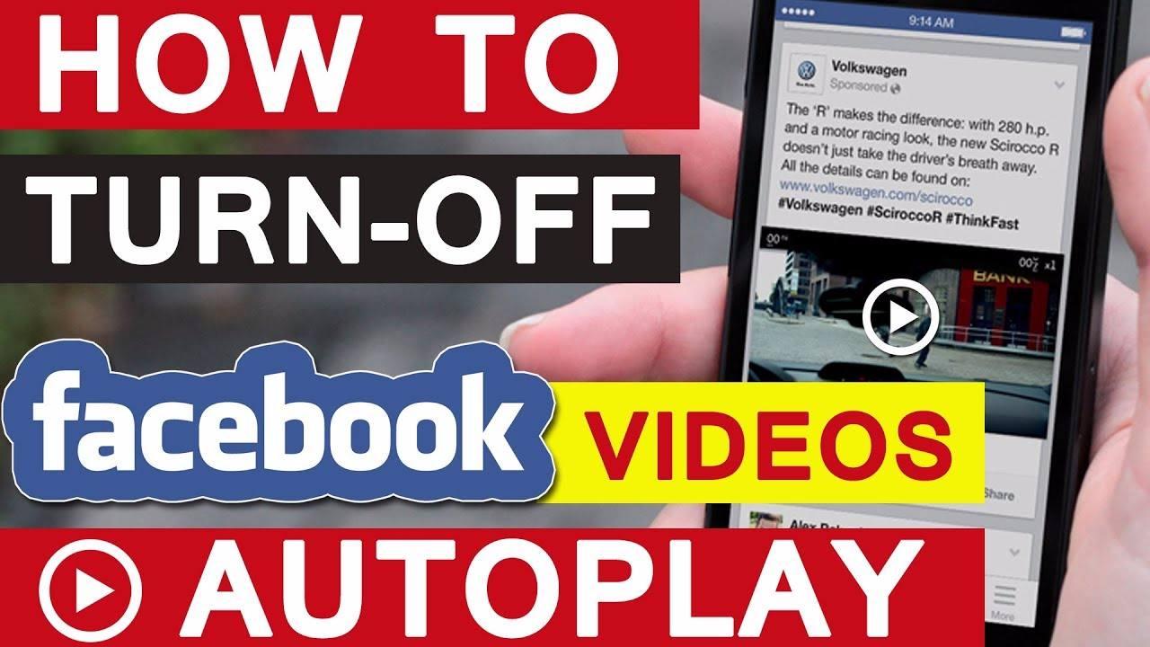 كيفية إيقاف التشغيل التلقائي لفيديوهات تطبيق الفيس بوك وتوفير بيانات الهاتف
