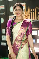 Adah Sharma looks super cute in Saree at IIFA Utsavam Awards 007.JPG