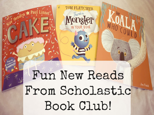 Fun New Reads From Scholastic Book Club