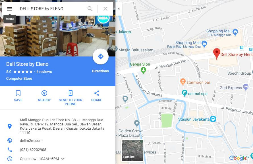 GOOGLE MAPS : DELL STORE by ELENO