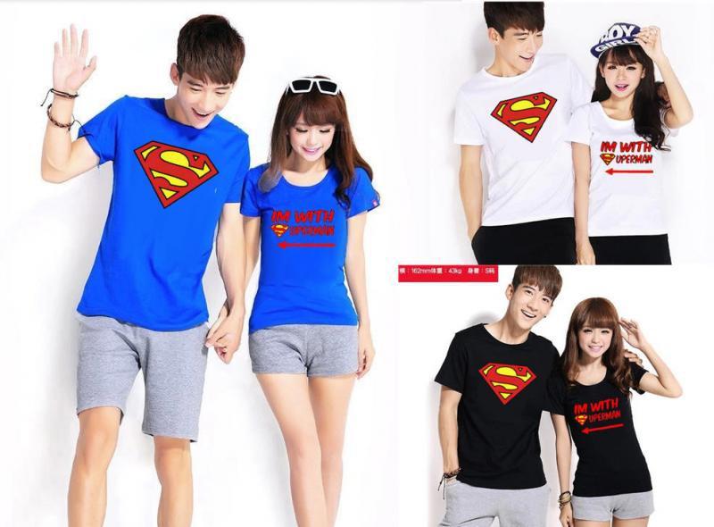 Jual Online With Superman Jakarta Bahan Combed Terbaru