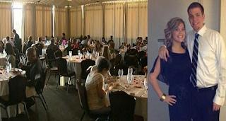 Ο γαμπρός το «σκάσε» και η νύφη πρόσφερε το φαγητό από το τραπέζι σε 120 αστέγους!