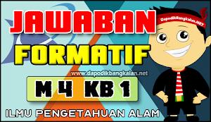 Jawaban Formatif M4 Kb 1 (Modul 4 IPA)