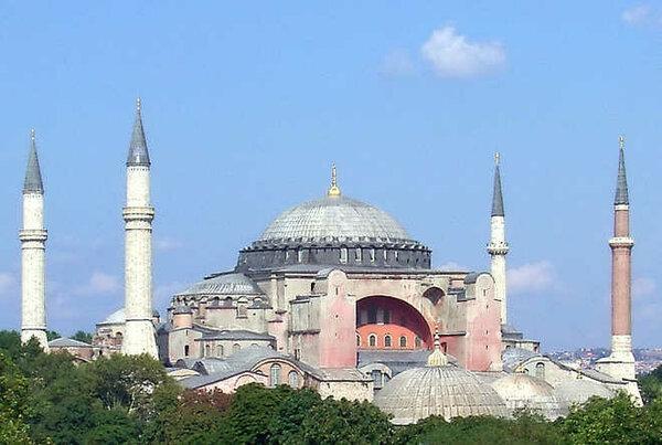 Собор Святой Софии в Стамбуле (Константинополь)