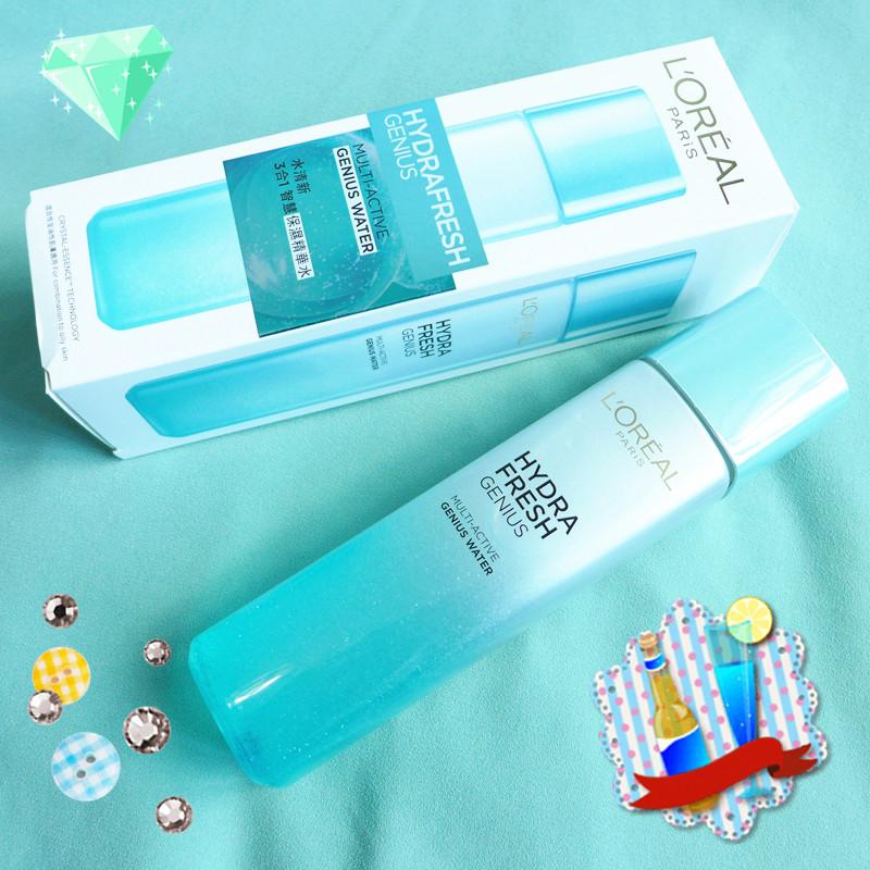 肌膚保養首重保濕 L'Oréal Paris水清新 3 合 1 智慧保濕精華水Genius Water - C'est l'amour