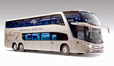 Bus Tingkat Paradiso 1800 G7 Marcopolo