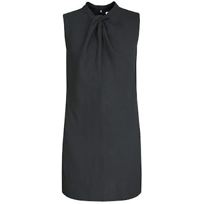 saint laurent twist knot mini dress