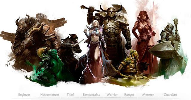 Clases de Guild Wars 2