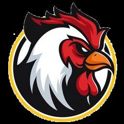 logo ayam petarung transparan
