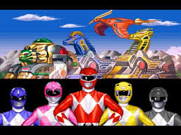 Power Rangers – The Fighting Edition – Sega Genesis (Mega Drive) Game